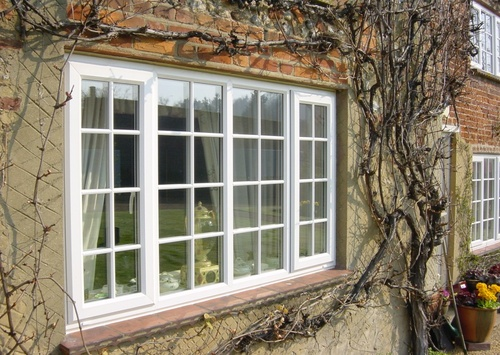 White UPVC in a Country Residence
