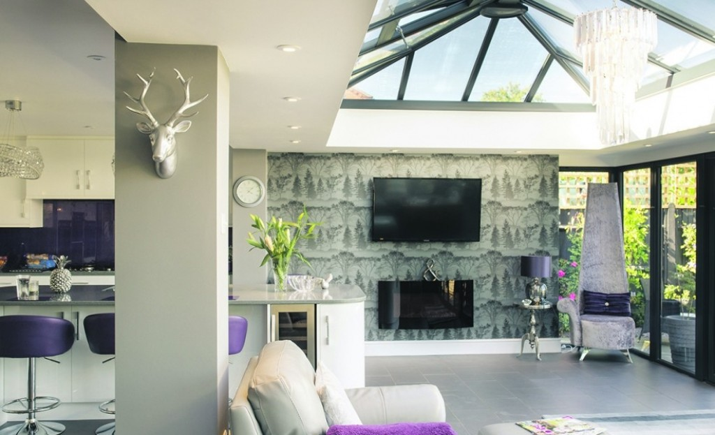 Luxurious orangeries...
