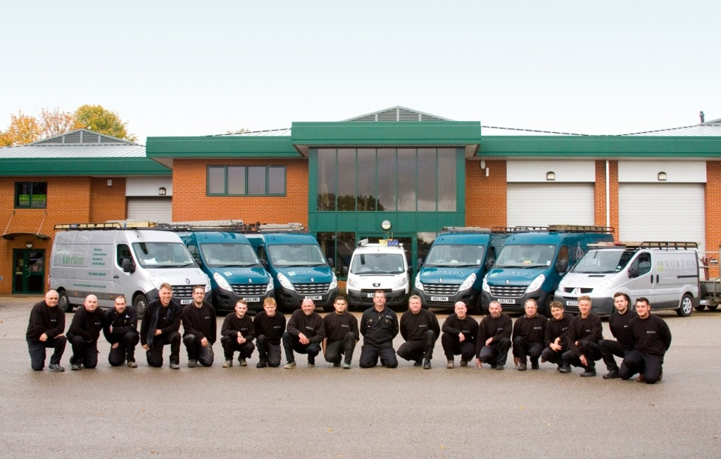 We're only as good as our staff - the Morton Team