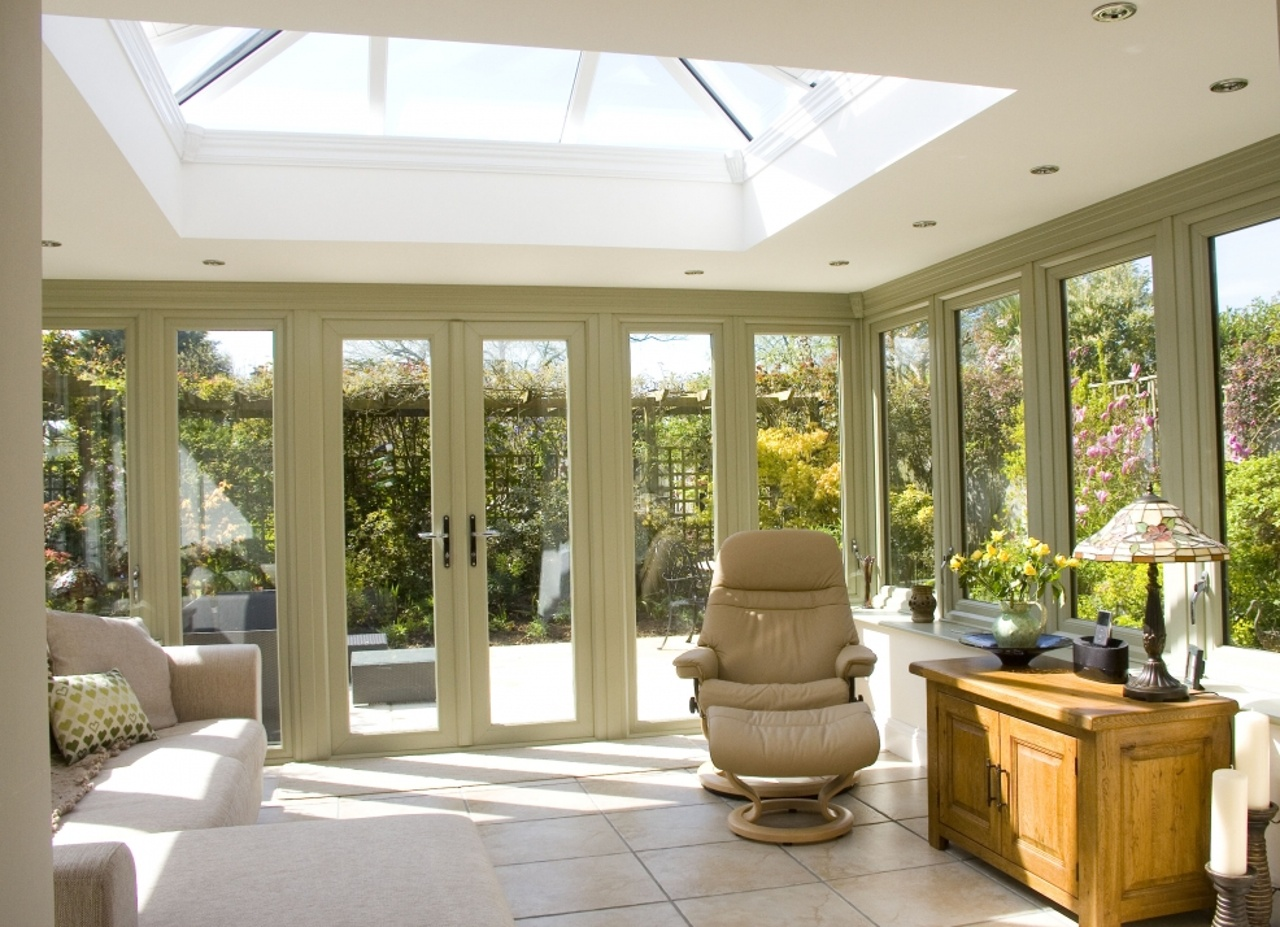 Traditional-style Orangery