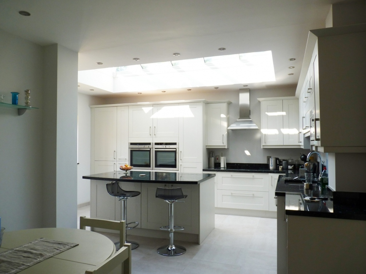 Kitchen Extension with Glass Lantern